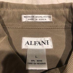 Alfani Shirts - Alfani casual button-down. Large